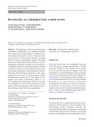brevibacillus as a biological tool a short review pdf download