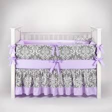 Teal And Purple Crib Bedding Purple And Teal Nursery Grey And Light Purple Lilac Baby