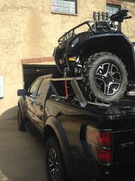 Ford F150 Truck Covers - an atv loaded on top of a ford f150 truck bed a diamondba u2026 flickr