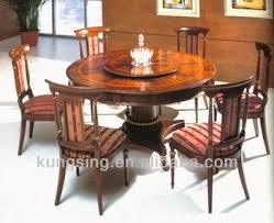 table and 6 chair set imported wooden round dining table 6 chairs set design buy