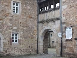 Hohe Burg Bad Sobernheim Melsungen Mittelalter In Der Nähe Kassels Alsfeld