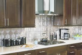 backsplash top kitchen with metal backsplash design ideas modern