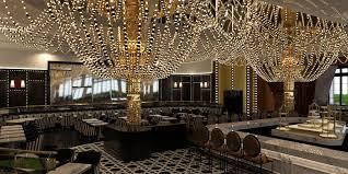 Chandelier Room Las Vegas Sugar Factory American Brasserie Returns To The Las Vegas Strip