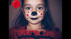 lady bug kids halloween makeup feat chloee evelyn audrey