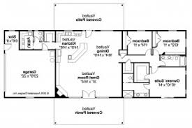 ranch style floor plans open home plan ranch house plans ottawa 30 601 associated designs house