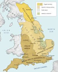 Map England by Maps 500 U2013 1000 U2013 The History Of England