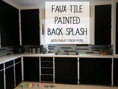 Painted Glass Backsplash Ideas by All Things Thrifty Home Accessories And Decor How To Paint A