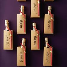 wine wedding favors diy sparkling wine wedding favors martha stewart weddings