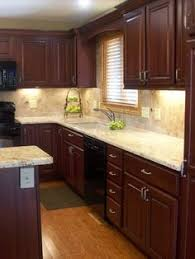 Kitchen Ideas The Kitchen Renovation  Makeover Cabinetry And - Cherry cabinet kitchen designs