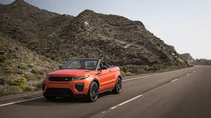 evoque land rover convertible in defense of the new range rover evoque convertible the drive
