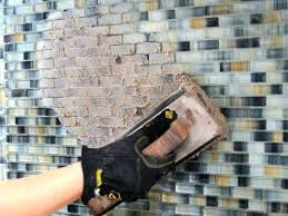 how to install a mosaic tile backsplash in the kitchen how to install mosaic tile installing mosaic tile install