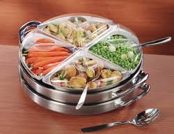 electric lazy susan buffet server is a revolutionary food warmer
