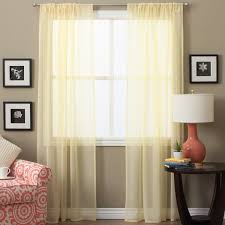 46 Inch Length Curtains Lucerne 72 Inch Sheer Curtain Panel Pair Free Shipping On Orders