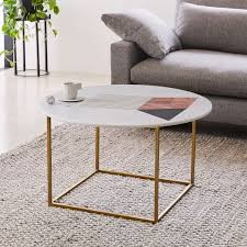 west elm white table brilliant white marble coffee table intended for graphic inlay round