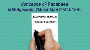 concepts of database management 7th edition by pratt test bank