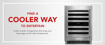 black friday wine fridge undercounter wine cellars 24 inch wine coolers kitchenaid