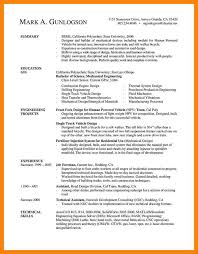 Mechanical Construction Engineer Resume How To Write Engineering Resume Resume Templates Software