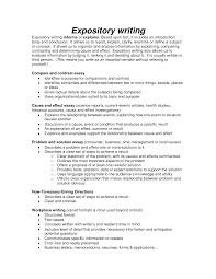 Characteristics Of A Good Resume A Good Expository Essay