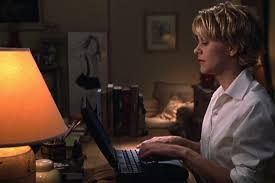 how to cut meg ryan youve got mail hairstyle almost 20 years on you ve got mail is kind of catfishing nonsense