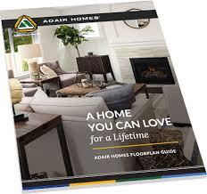 custom home floor plans adair homes