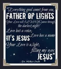 watch father of lights to worship in the light is an act of faith but to worship in the