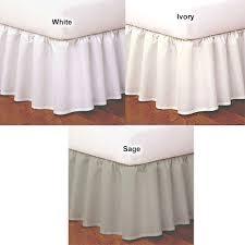 Wrap Around Bed Skirts Magic Skirt Ruffled Wrap Around Bed Skirt Boscov U0027s