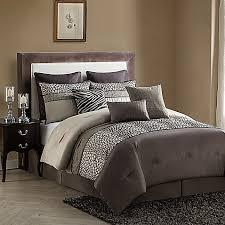 Bed Bath And Beyond Prescott Vcny Mali 9 Piece Comforter Set In Brown Bed Bath U0026 Beyond