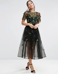 embellished dress asos asos embellished smock dress