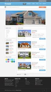 Free Joomla Real Estate Templates by Freehold Responsive Real Estate Theme By Progressionstudios