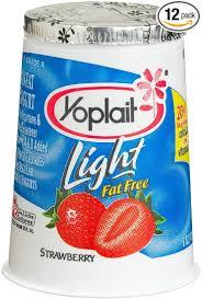yoplait light yogurt ingredients amazon com yoplait yogurt strawberry light 6 ounce cups pack of