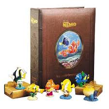 disney store finding nemo storybook ornament set home