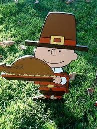 snoopy pilgrim peanuts yard yard decor wood plywood the