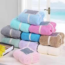 what is 1 75 bath colors microfiber towel set 2pcs face towel 1 34 80 cm bath towel