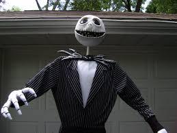 size jack skellington nightmare before christmas prop halloween