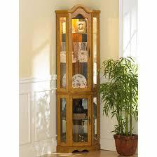 glass corner curio cabinet elegant corner curio cabinet ikea homes furniture ideas regarding