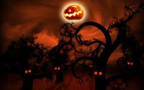 free halloween animated desktop wallpaper wallpapersafari