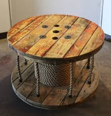 Cable Reel Table by This Would Be An Easy Diy Project I Already Have A Large Spool