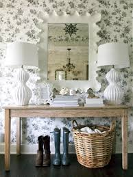 creative diy dining room wallpaper accent wall white ornamental