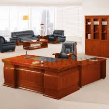 Office Executive Desk Chinese Style Design Top Grade L Shaped Office Executive Desk For