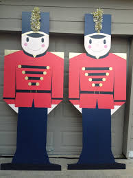 Christmas Outdoor Decorations Florida by Plywood Christmas Yard Decoration Patterns Toy Soldier Outdoor