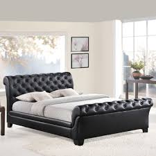 Tufted Sleigh Bed Modway Queen Upholstered Sleigh Bed U0026 Reviews Wayfair