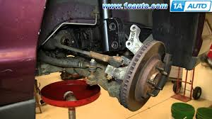 how to install replace front axle 2000 07 monte carlo youtube