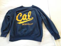 berkeley sweater awesome vintage chion blue bar cal california berkeley
