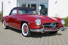 classic red mercedes 1962 mercedes benz 190sl frame off restoration in progress sl