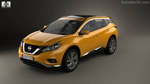 360 View Of Nissan Murano Z52 2015 3d Model Hum3d Store