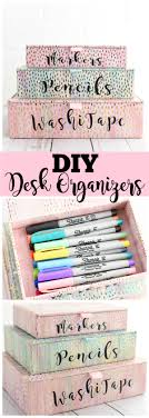 Desk Organization Diy Diy Desk Organizers