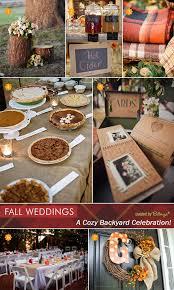 Backyard Bbq Wedding Ideas Fall Backyard Wedding Best Photos Cute Wedding Ideas