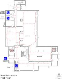 The Oc House Floor Plan by Uchicago Maps Mcgiffert House Accessible Entrances And Routes