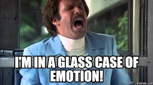 Ron Burgundy Memes - signs you might be more sensitive than you think with memes