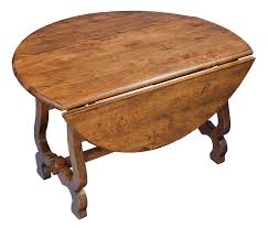 Modern Drop Leaf Round Kitchen Table  Housphere - Round drop leaf kitchen table